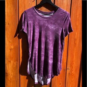 Mudd|Purple Asymmetrical T-Shirt